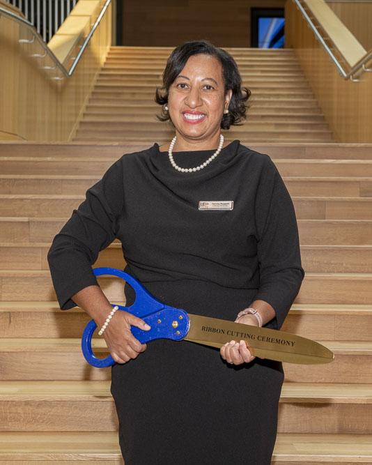 Library Director Tammy Baggett